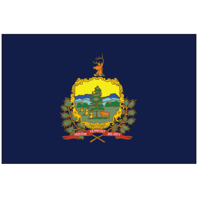 Vermont Indoor / Parade Flag