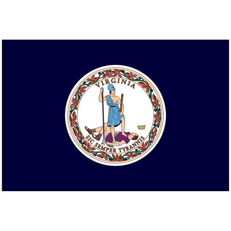 Virginia Indoor / Parade Flag