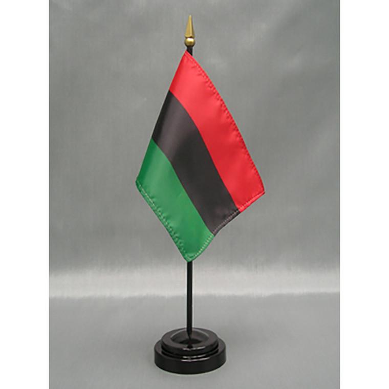 Afro-American 4x6 E-Gloss Mounted Flag