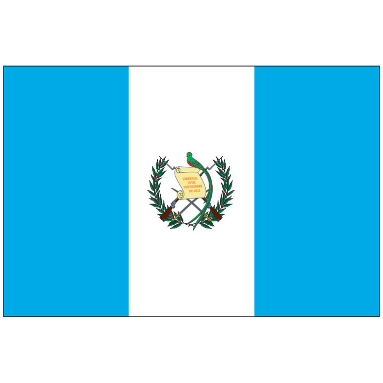 Guatemala w/Seal Flag
