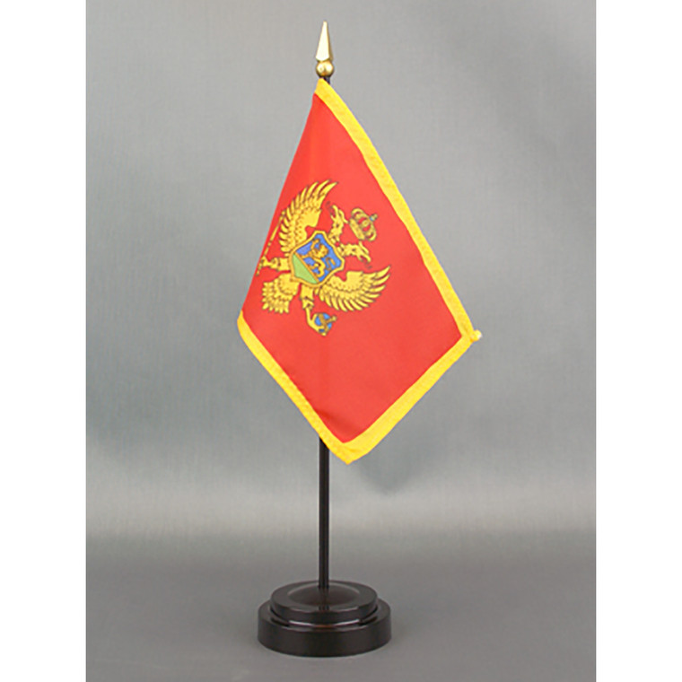 Montenegro 4x6 E-Gloss Flag Mounted Flag