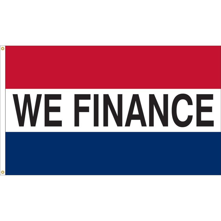 We Finance Flag