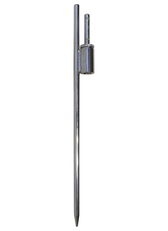 In-Ground Mount for Fiberglass Flagpole for Teardrop Flags
