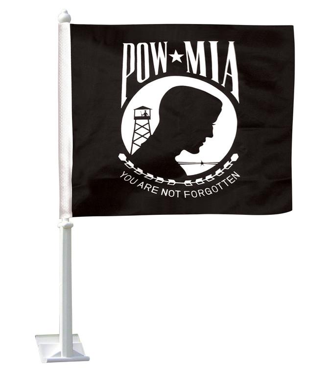 POW-MIA Car Window Flag