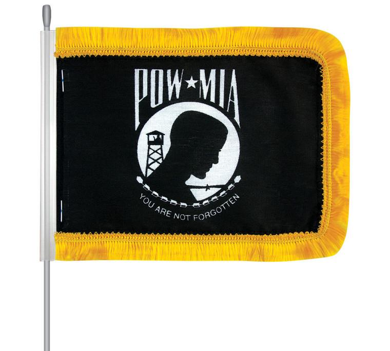 POW-MIA Car Aerial Flag