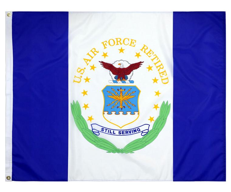 3' x 4' Air Force Retired Flag