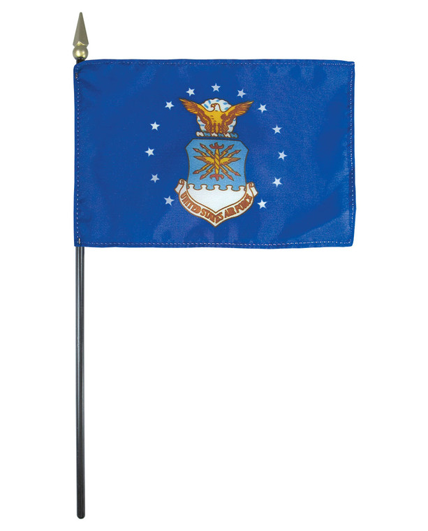U.S. Air Force Flag on a Stick