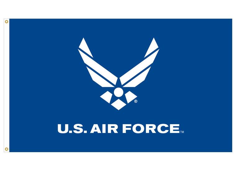 3' x 5' Air Force Logo Flag