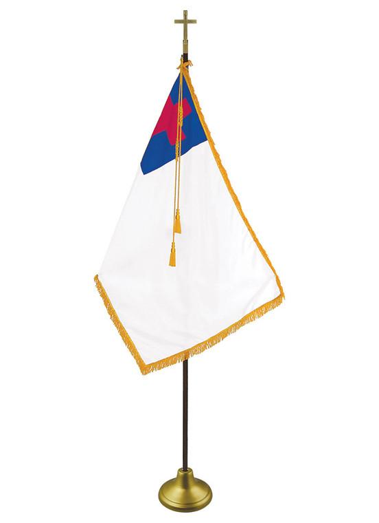 Christian Indoor Flag Set