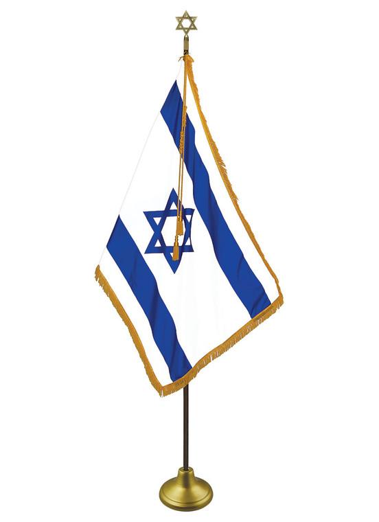 Israel Indoor Flag Set