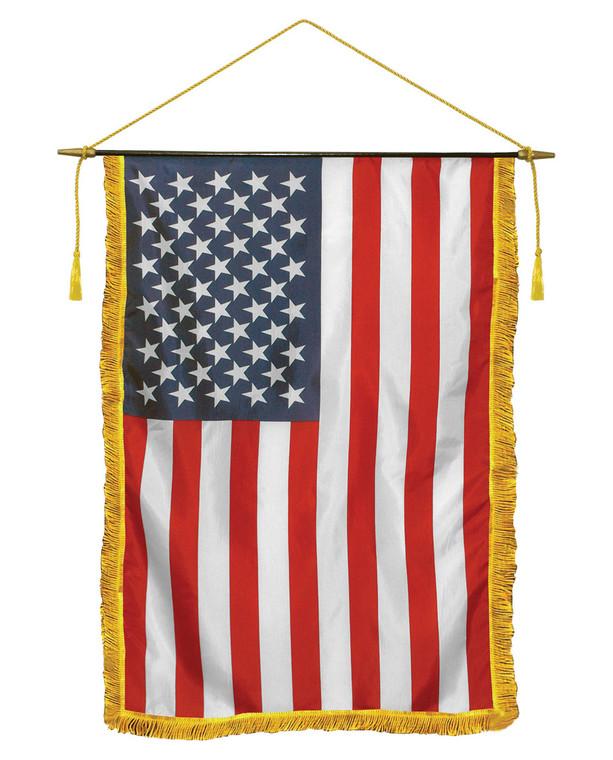 E-Gloss American Flag Classroom Banners