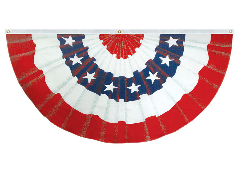 Poly-Cotton Illusion Bunting