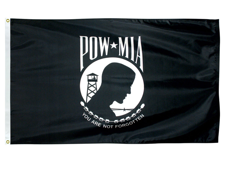 POW-MIA Flag - Single/Reverse