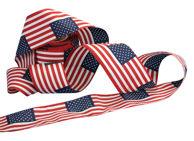 Cotton American Flag Bunting