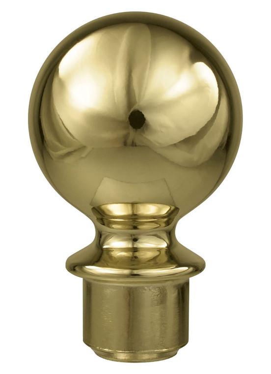 Metal Slip Fit Ball Ornament for Aluminum Poles