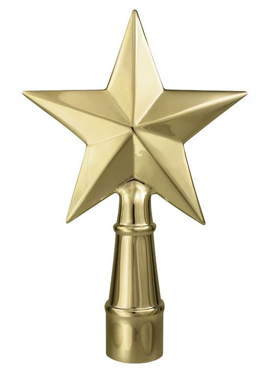 Metal Texas Star Ornament