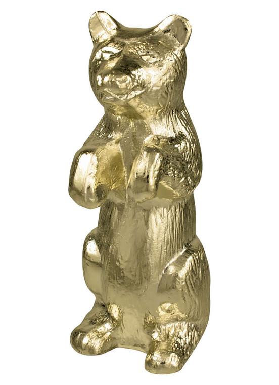Metal Bear Ornament