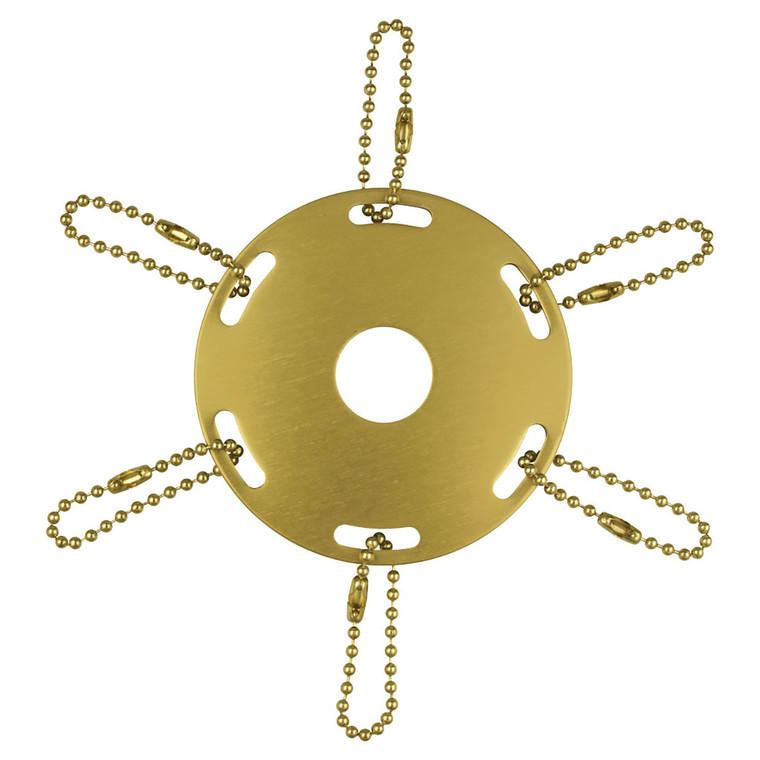 Gold - Metal Award Ribbon Pole Rings