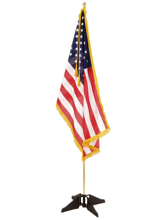 Scouting Portable Indoor American Flag Set