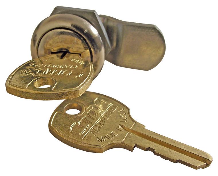 Lock & Key for Aluminum Flagpole Doors
