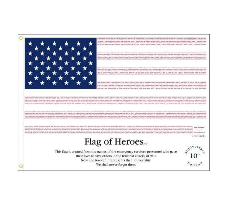 Flag of Heroes  9-11 Flag
