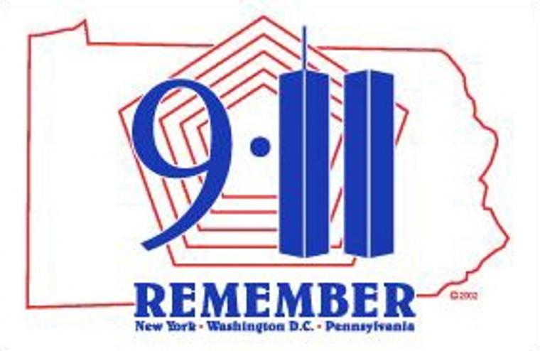 3' x 5' Remember 9/11 Flag