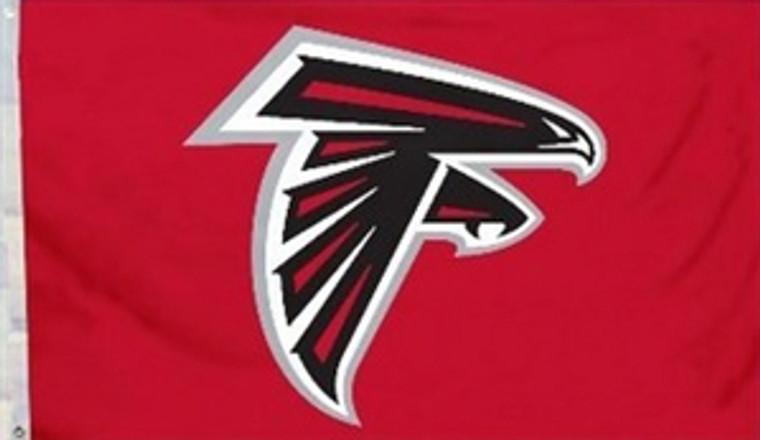 Atlanta Falcons Logo Flag - 3' x 5'