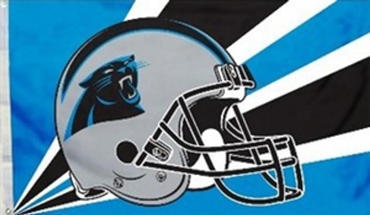 Carolina Panthers Helmet Flag - 3' x 5'