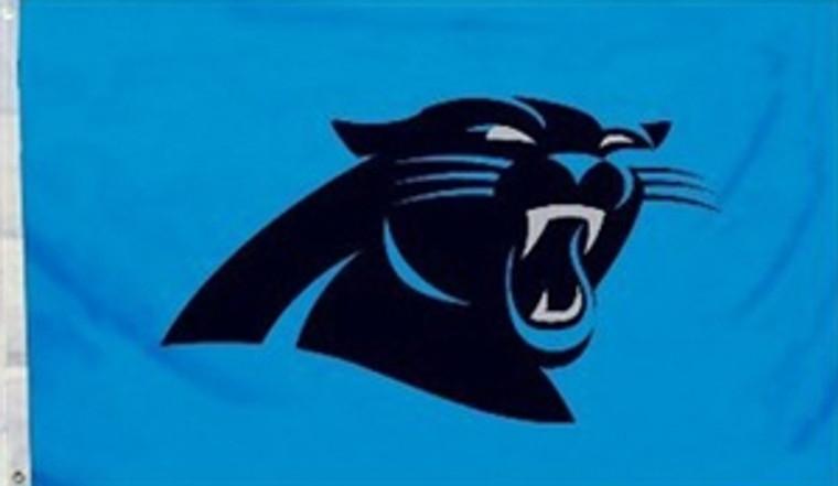 Carolina Panthers Logo Flag - 3' x 5'