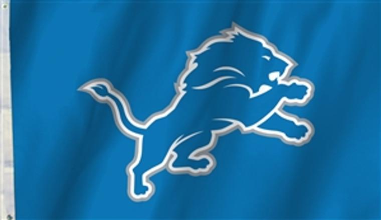 Detroit Lions Logo Flag - 3' x 5'