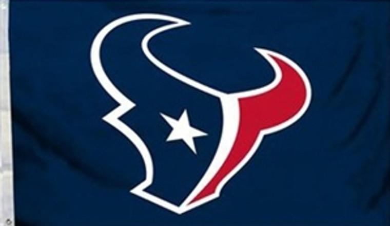 Houston Texans Logo Flag - 3' x 5'