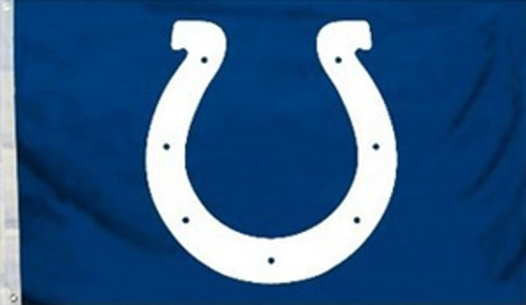 Indianapolis Colts Logo Flag - 3' x 5'