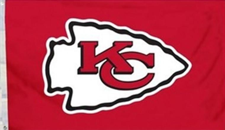 Kansas City Logo Flag - 3' x 5'