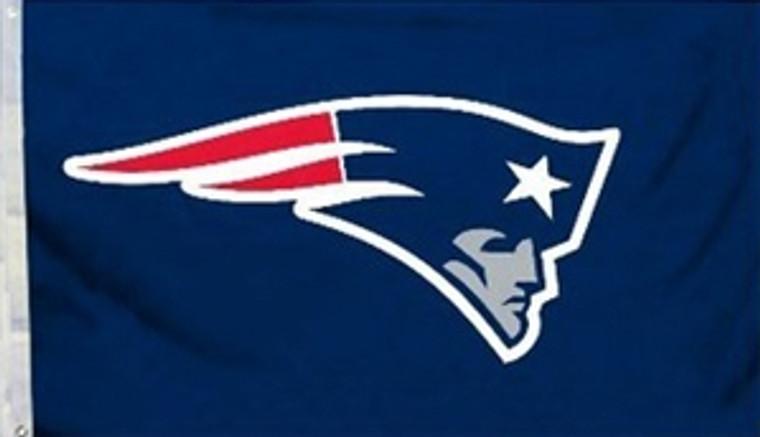 New England Patriots Logo Flag - 3' x 5'