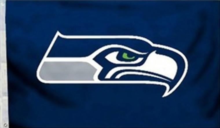 Seattle Seahawks Logo Flag - 3' x 5'