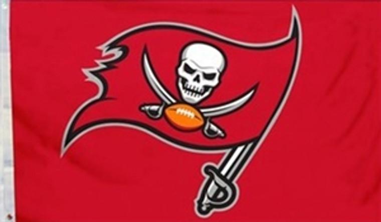 Tampa Bay Buccaneers Logo Flag - 3' x 5'