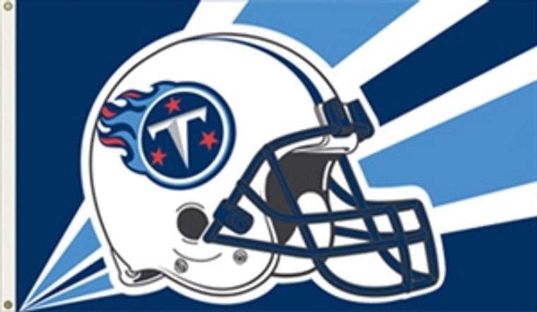 Tennessee Titans Helmet Flag - 3' x 5'