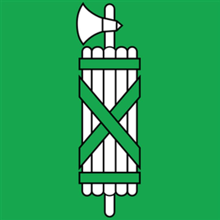 Swiss Canton of St. Gallen E-Gloss 4'' x 4'' Flag