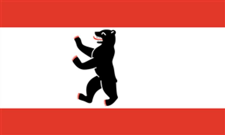 German State 3' x 5' Flag - Berlin