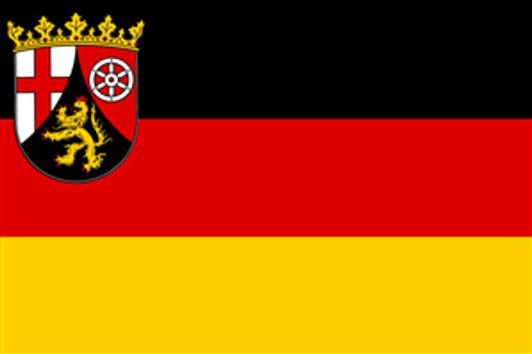 German State 3' x 5' Flag - Rhinelander Palatinate