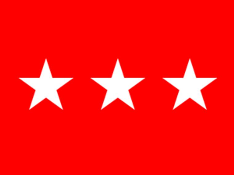 3 Star Army Officers 4''x 6'' E-Gloss Flag