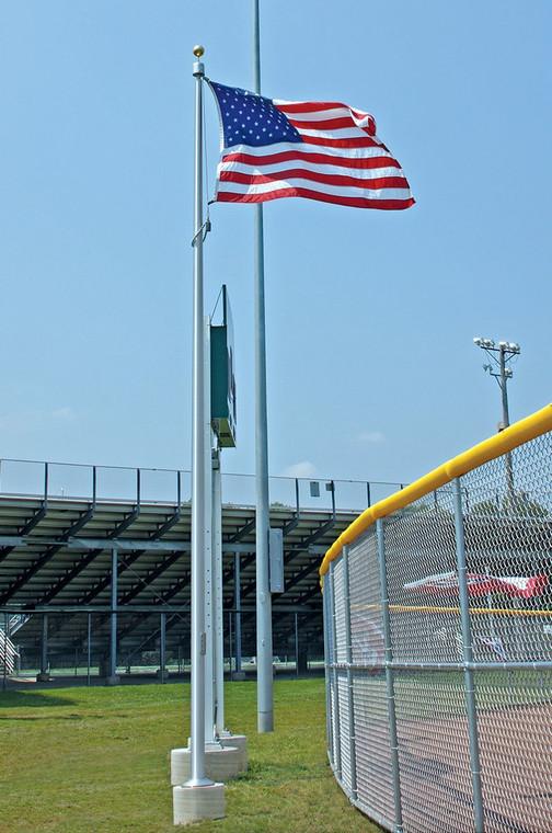 Baseball Stadium Install