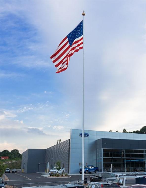 APEX 100' Aluminum Flagpole
