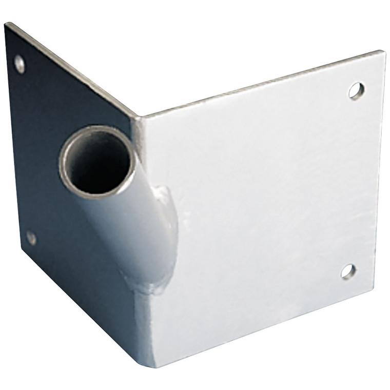 Single Corner Aluminum Flagpole Bracket