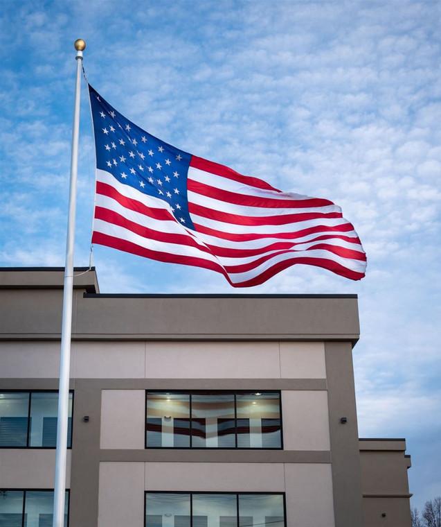 American Made Fiberglass Flagpoles
