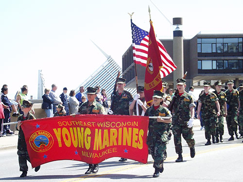 Banner Poles for Parades