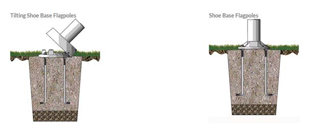 flagpole installation options