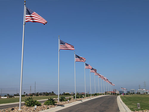 IN GROUND FLAGPOLES