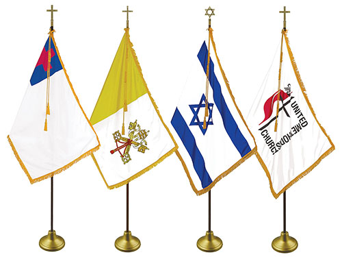 Religious Indoor Flag Sets