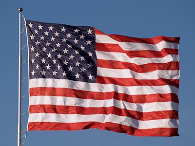 After American Flag Repair